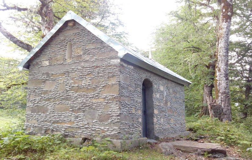 Церковь на высоте 2000 м