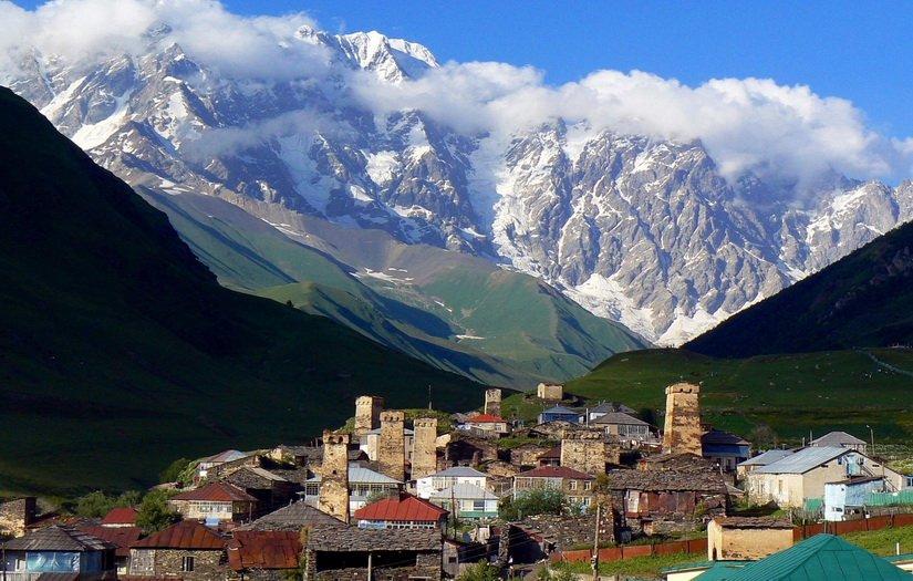 50 фактов о Грузии: Ушгули