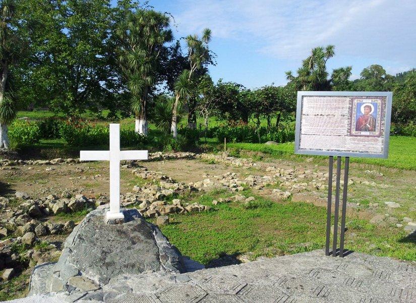 Могила апостола Матвея в Гонио