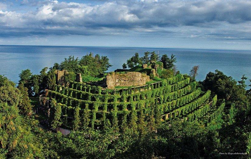 Крепость Петра в Грузии