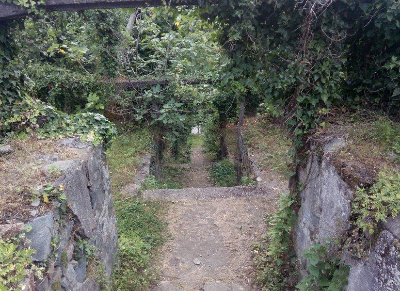 Центральная лестница Петры