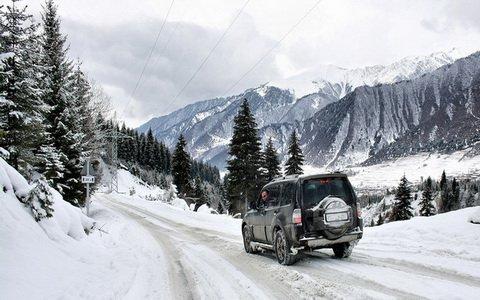 Отчёт о том, как мы искали в горах Грузии снег зимой