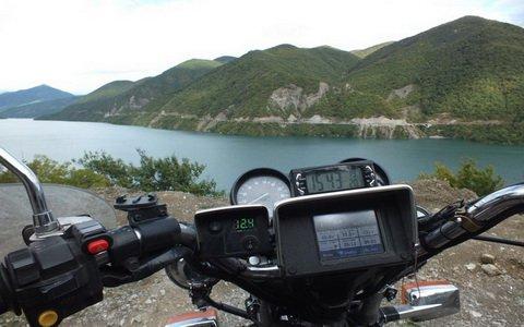 Отчет о поездке на мотоцикле в Грузию. Часть 2: путешествие по стране