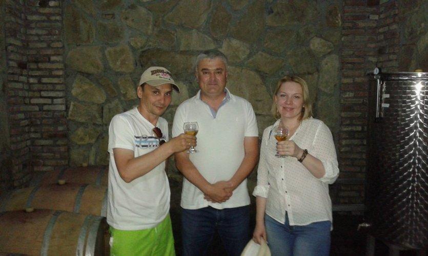 Дегустация вина в Грузии